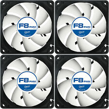 3 x Arctic Cooling F8 PWM Rev.2 80mm Alloggiamento Ventola 2000 RPM
