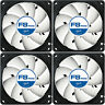 4 x Arctic Cooling F8 PWM Rev.2 80mm Case Fans 2000 RPM AFACO-080P2-GBA01 Artic