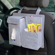 Car Seat Back Storage Bag Organizer Multi-Pocket Travel napkin snack drink phone