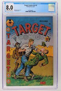 Target Comics #v5 #5 - Novelty Press 1944 CGC 8.0 - 2nd HIGHEST GRADE!