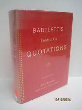 Bartlett's Familiar Quotations by John Bartlett