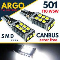 Ford Mondeo MK5 Led Reverse 2012-on White Light Halogen Upgrade Bulbs 12v Fits