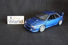 AutoArt Subaru Impreza 22B 1:18 blue (silver wheels) (JvdM)