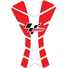 New - Official MotoGP 3 Piece Motorcycle Tank Pad - Red/White