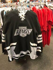 LA Kings Logo Hockey CCM  hoody NEW Sewn letters NHL