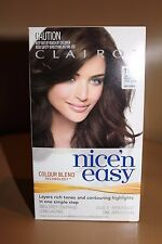"""Clairol N Easy Lvl 3 Permanent Hair Colour """"no 117 Natural Med Gold Brown"""""""