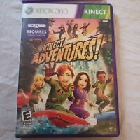 XBOX 360 KINECT Adventures! Video Game Requires Kinect Sensor Complete Mint!!!
