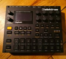 Elektron Digitakt & Case | Drum Machine Sampler Eight Voice Midi Sequencer