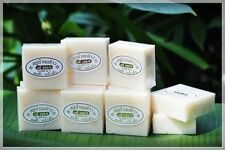 3 XThai Rice Milk Herbal Soap Handmade Whitening Collagen Natural Body Face Acne