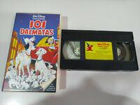 101 DALMATAS VHS TAPE COLECCIONISTA LOS CLASICOS DE WALT DISNEY CINTA DE VIDEO