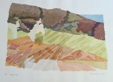 Ruth Kerkovius Modern CA Landscape Limited Edition Print 29 of 40 SIGNED