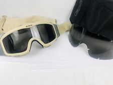 ESS® Sand Ops Goggles  Beige Military US Army Glasses (USA)