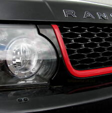 Black+Red Autobiography style front grille for Range Rover Sport 2010-13 edition