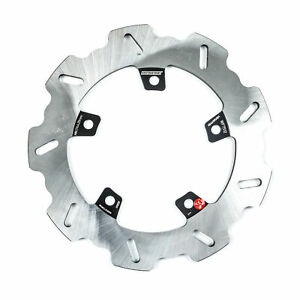 Braking Rear Wave Rotor Heat-Treated Light Weight Stainless Steel Disc WF7512