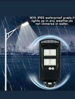 USA🇺🇸 600W 384 LED 45000LM  Solar Street Light Motion Sensor