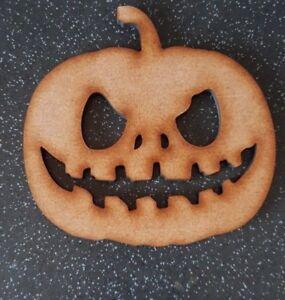 Halloween Pumpkin Blank Wood 10 15 20 30 40cm Unpainted MDF Scary Party Decor