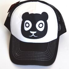 NEW Mens Black Bear trucker mesh cap summer hat