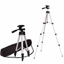 Pro Stretchable Camera Tripod Stand Mount Holder for iPhone Samsung HTC LG + Bag