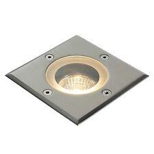 Saxby Pilar exterior empotrada luz suelo Tipo Marine IP65 50w GU10 Reflector