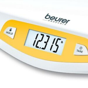 Beurer Baby Weighing Curved Scale Digital LCD Hold Tare Function BY80 RRP £55