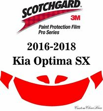 3M Scotchgard Paint Protection Film Pro Series Fits 2016 2017 2018 Kia Optima SX