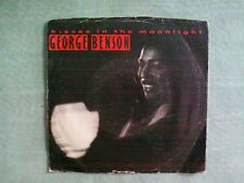 George Benson Kisses In The Moonlight 1986 Vinyl Record 45 rpm NM-