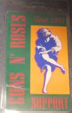 "Guns N' Roses Backstage Pass ""Use Your Illusion Tour 1993"" Original & Authentic"