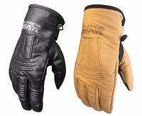 MKR Pilot Vintage Classic Cafe Racer Cruiser Custom Motorcycle Motorbike Gloves