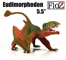 Eudimorphodon pterosaur Dinosaurs green PVC solid Figurine Figure model Floz