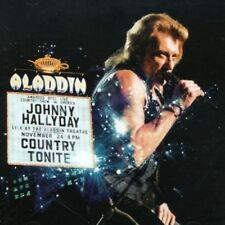 CD de musique rock compilation Johnny Hallyday