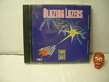 GUNHED/ Blazing Lasers nec PC engine/NEC TurboGrafx 16 hu-card/cdrom Import USA