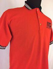 GILDAN ULTRA Safety Kleen Motor Sports Mens Red Sz M Polo Shirt Short Sleeve