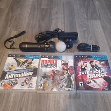 Playstation 3 and 4  Move Motion Controller  Bundle Tested