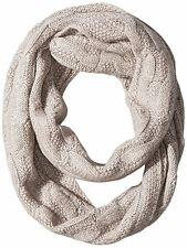 NEW Sofia Cashmere Cable Seed Stitch Infinity Scarf 100% Cashmere