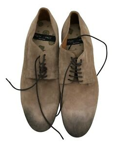 Paul Smith Damen Beige Wildleder Sohle Schuhe