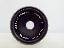 Isco-Gottingen Iscovitap 1:2.8 50mm Lens M42 Mount (export Iscotar)EXCELLENT!