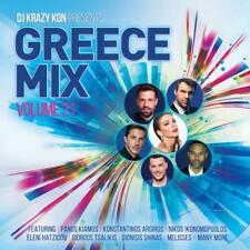 DJ Krazy Kon - DJ Krazy Kon pres. Greece Mix Vol. 21 (CD ALBUM)