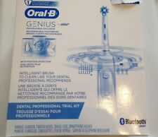 Oral B Genius Braun Professional Rechargeable Toothbrush Bluetooth Smart