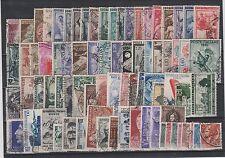 FRANCOBOLLI 1950/53 REPUBBLICA LOTTO Z/7332