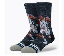Stance Socks NBA Basketball KAWHI LEONARD SKETCHBOOK Spurs size L(9-12) #43 crew