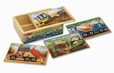 Construction Puzzles in a Box. Melissa & Doug. Delivery