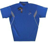 Detroit Lions NFL Men's Team Conference Stadium Golf Polo Shirt Size 2XL