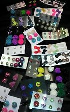 Wholesale Lot STUD Earrings 50 pairs Brand New AND FREE SHIPPING  :-)