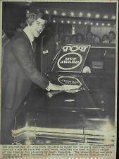 Bobby Orr Sport MVP Stanley Cup Playoffs 1972 Press Wire Photo Boston Bruins