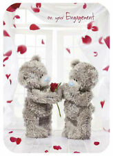 CARTE BLANCHE ME TO YOU TATTY TEDDY PHOTO FINISH ENGAGEMENT CARD - A93SF018