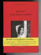 """Curt Leviant : Journal d'une femme adultère """" EditionsAnatolia"""""""