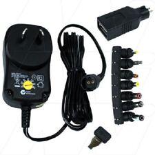 POWERTECH PLUS Multi Voltage AC Adapter 1A, 3-12VDC MP-3312