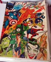 Jim Steranko History of Comics Volume 1 Vintage 1970 11x14, Good Condition