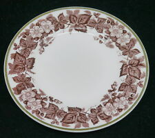 VINTAGE WEDGWOOD CHINA ALPINE PINK BREAD PLATE, 6 INCHES