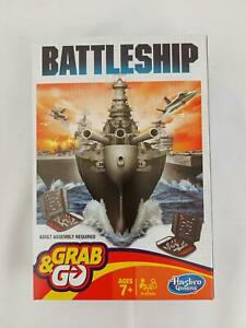 Battleship Grab and Go Game - Hasbro Travel Size Game - NEW